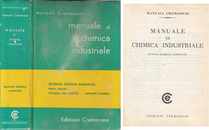LZ- MANUALE DI CHIMICA INDUSTRIALE -- CREMONESE - MANUALI -- 1980 - C - ZFS285