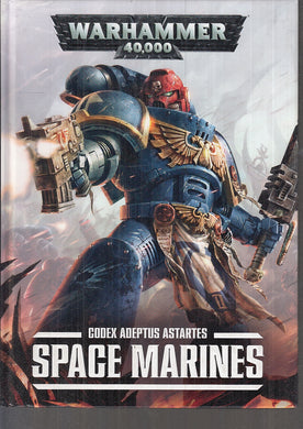 LF- WARHAMMER 40.000 CODEX ADEPTUS ASTARTES SPACE MARINES -- GAMES WORKSHOP - C