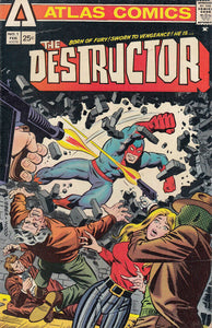 FL- THE DESTRUCTOR N.1 -- ATLAS COMICS USA - 1975 - S - PBX109