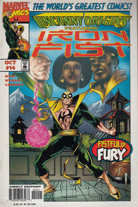 FL- UNCANNY ORIGINS IRON FIST N.14 -- MARVEL COMICS USA - 1997 - S - PBX