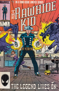 FL- THE RAWHIDE KID N.1 -- MARVEL COMICS USA - 1985 - S - PBX231