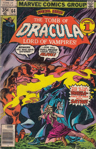 FL- THE TOMB OF DRAULA N.64 LORD OF VAMPIRES -- MARVEL USA - 1978 - S - PBX92