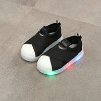 LED Sneakers Breathable Children Sports Shoes Luminous Shoes with Light Kids Sneakers