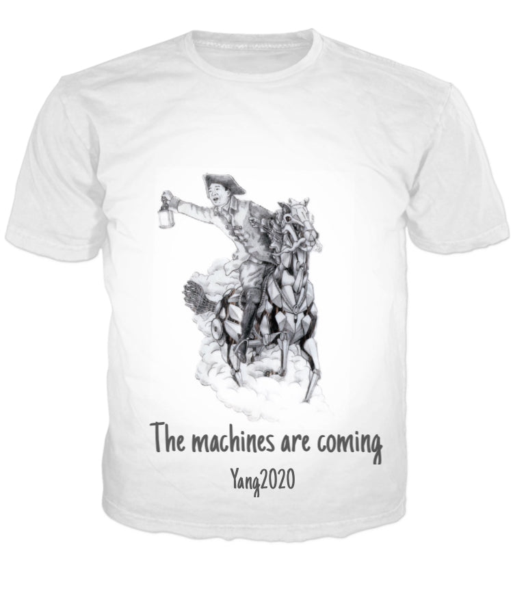 The Machines Are Coming Adult Short Sleeve T-Shirt
