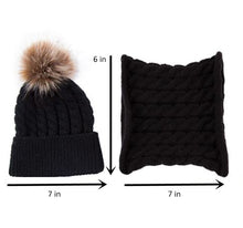 Load image into Gallery viewer, Infant Beanie and Scarf Set