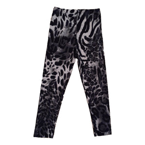 Leopard print girls leggings
