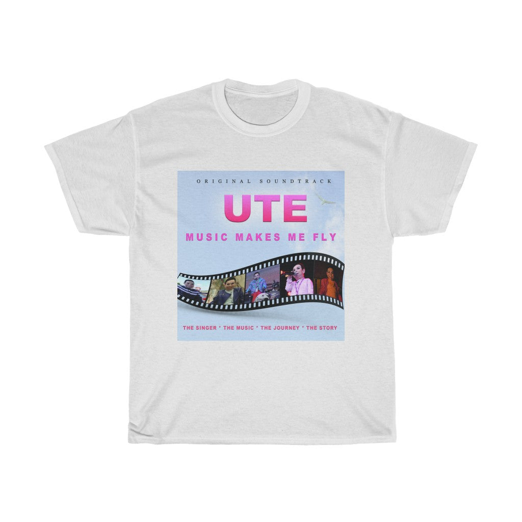 UTE - Music Makes Me Fly - Album Cover T-shirt