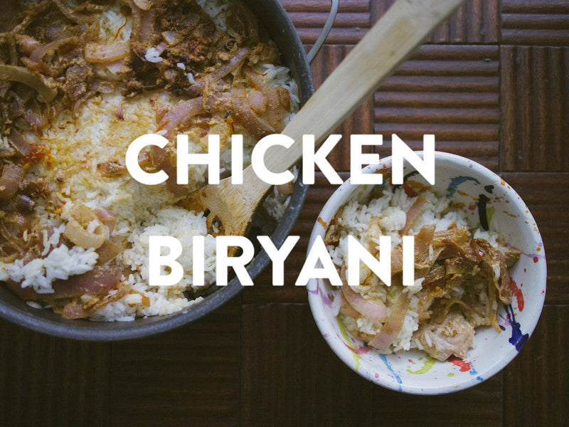 Chicken Biryani - Dum Method