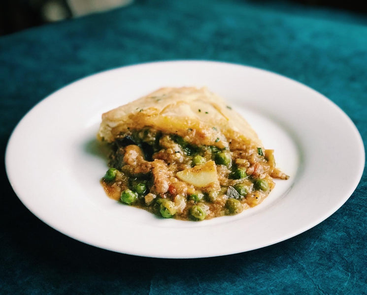 Instant Pot Lamb Pot Pie