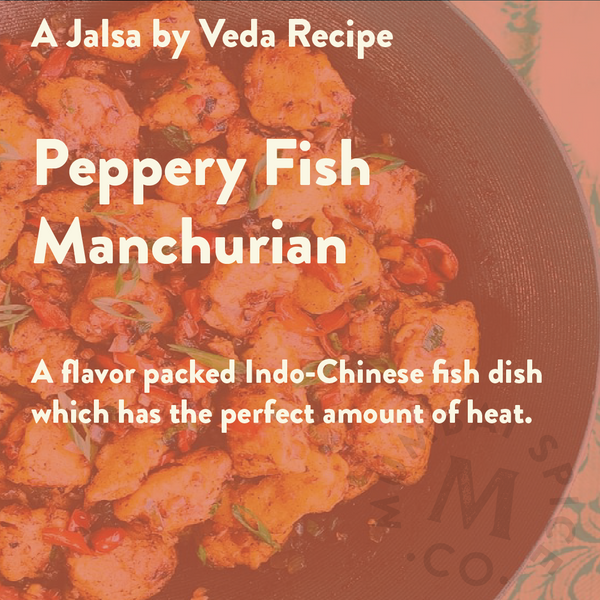Peppery Fish Manchurian