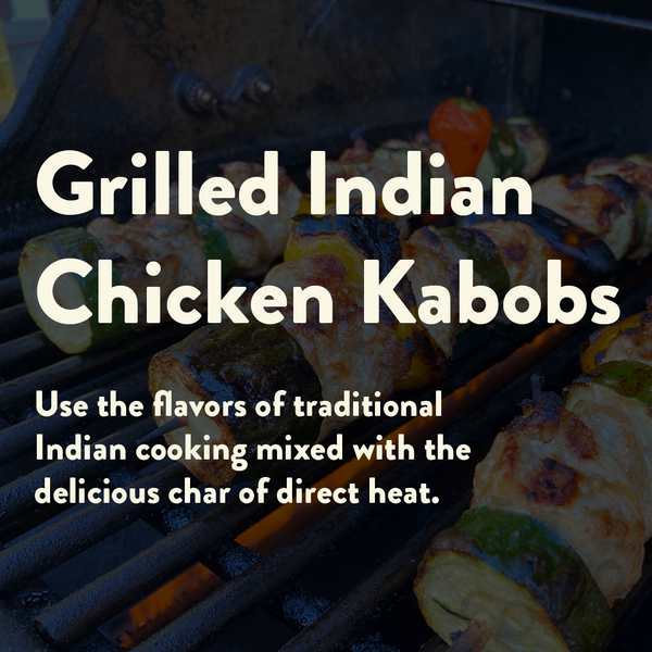 Simple Grilled Indian Spiced Chicken