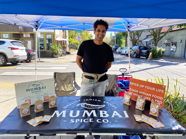 mumbai spice company in person selling