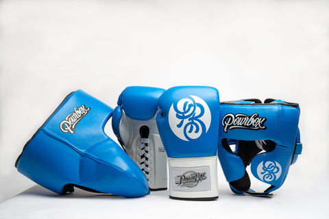 Premium Sparring Kit (Blue/White).
