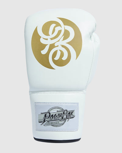 Premium Lace-up Glove White/Gold - Customized.