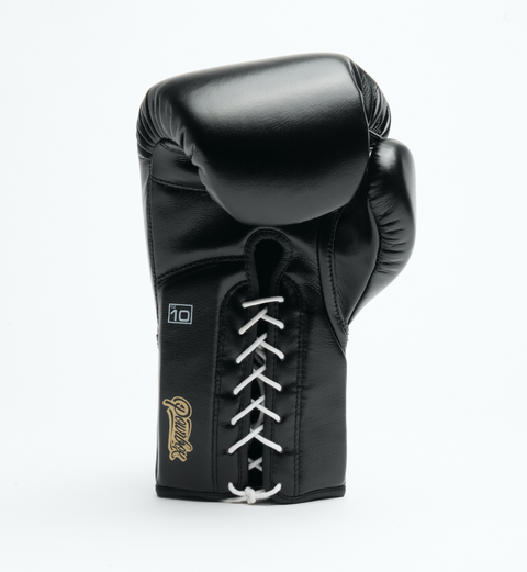 Premium Lace-up Glove V2 Black/Black/White