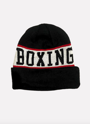 Powrbox Boxing Team Beanie (Black/White/Red).
