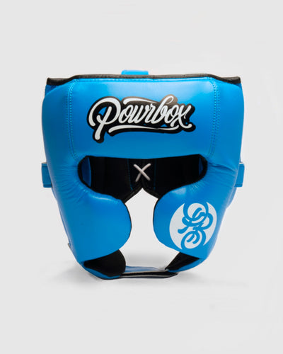 Powrbox Premium Headguard (Blue)