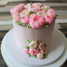 Load image into Gallery viewer, Peony Flower Cake