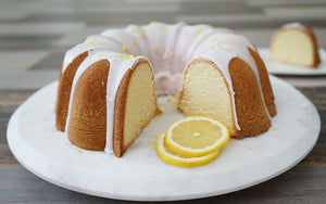 Lemon Pound Cake (GF/KETO Options)