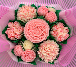 Mother's Day Flower Cupcake Bouquet (GF Options)