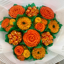Load image into Gallery viewer, Orange and Golden Yellow Flower Bouquet