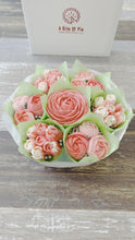 Load and play video in Gallery viewer, Sugar Rose Pink and White Flower Bouquet