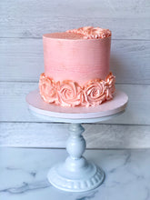 Load image into Gallery viewer, Pink Rosette Celebration Cake