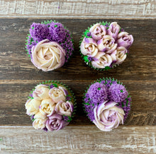 Load image into Gallery viewer, Purple and White Cupcakes Intricate (4)