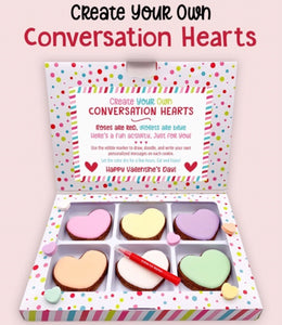 Conversation Hearts Cookie Kit