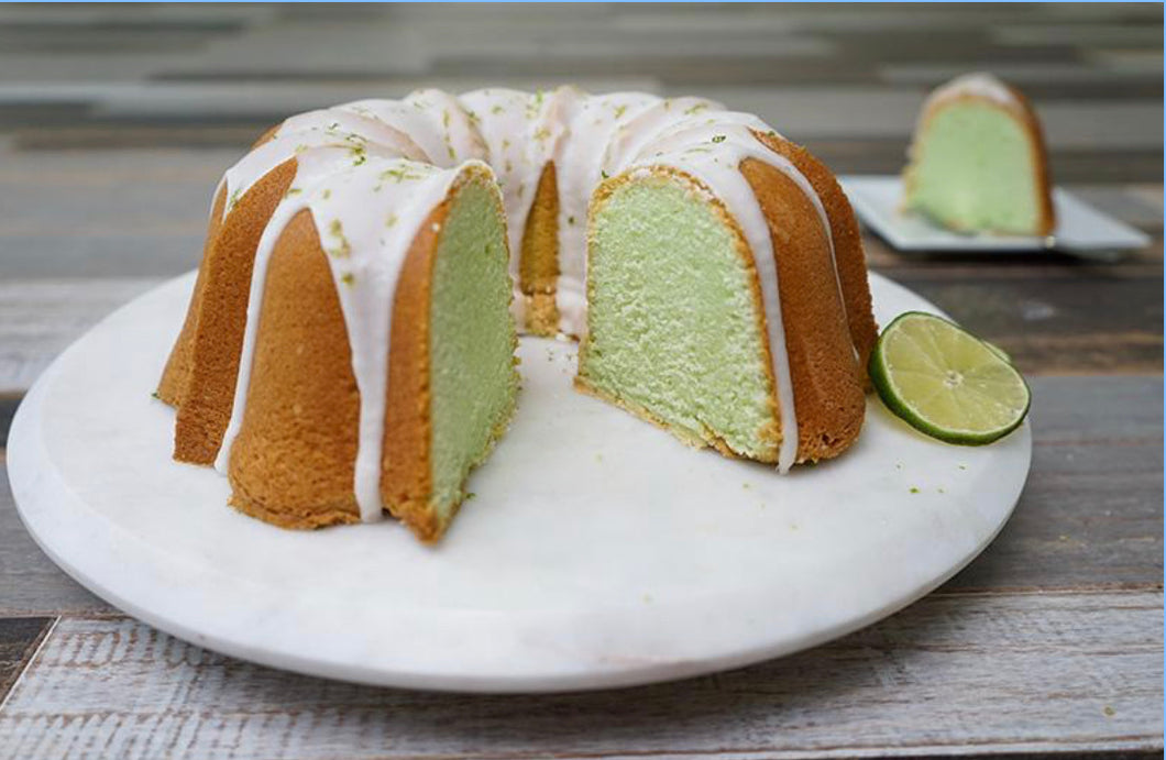 Key Lime  Pound Cake (GF/KETO Options)