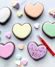 Load image into Gallery viewer, Conversation Hearts Cookie Kit