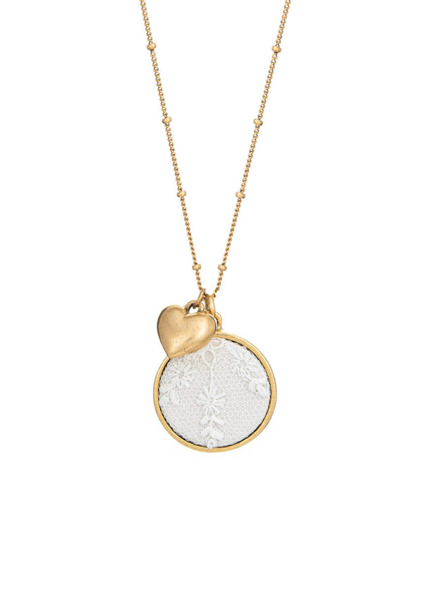 Keepsake Necklace with Heart Charm