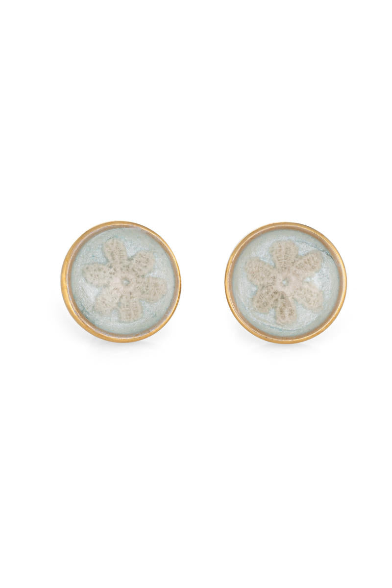 Marguerite Earrings Blue