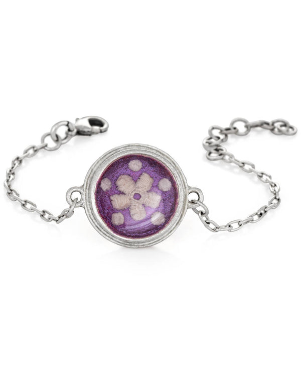 Laurel Bracelet - Purple