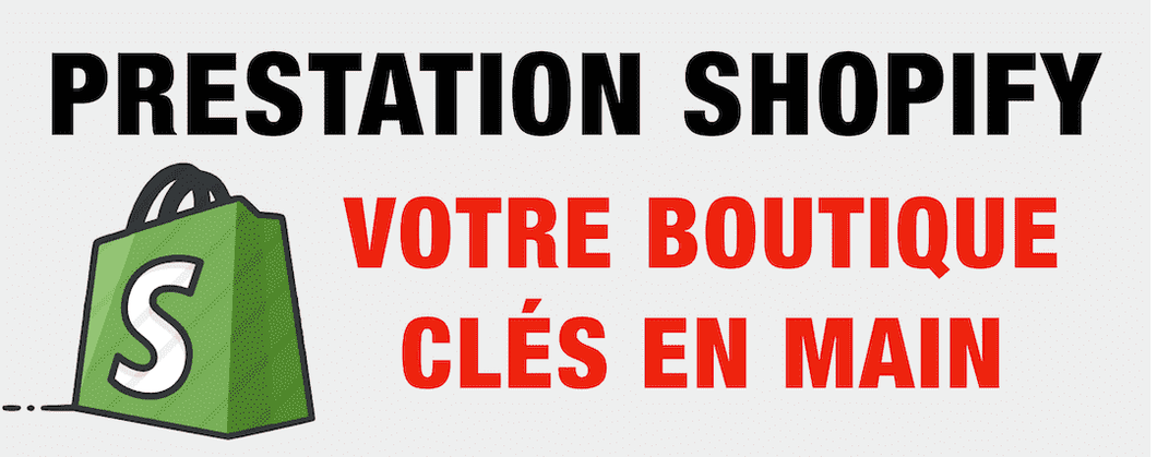 Prestation boutique Shopify