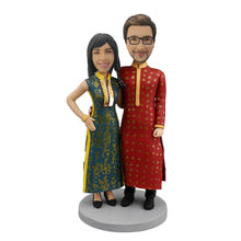 Load image into Gallery viewer, India Couple Bobblehead