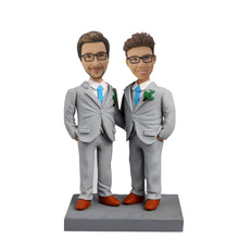 Load image into Gallery viewer, Two Men Bobblehead