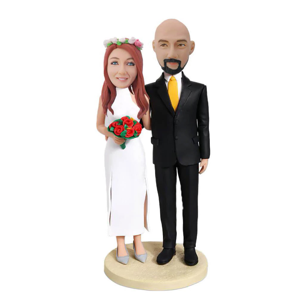 Elegant Couple Bobblehead
