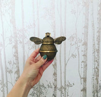 Bee door knocker - Brass bee