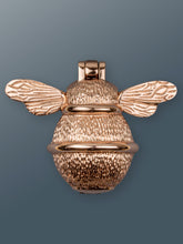 Load image into Gallery viewer, Brass Bumble Bee Door Knocker - Rose Gold Finish - Shop unique door knocker, wreaths & Christmas gift cards online! Brass bee