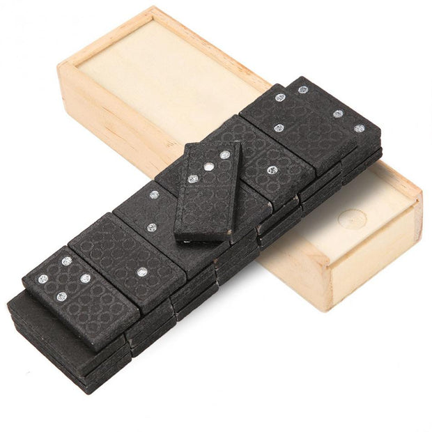 28pcs Domino Set in Wooden Box