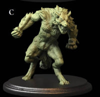 Werewolves, Lycan, Monsters for RPGs tabletop games, Dungeons & Dragons, Pathfinder RPGs