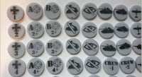 Bolt Action WW2 game Tokens