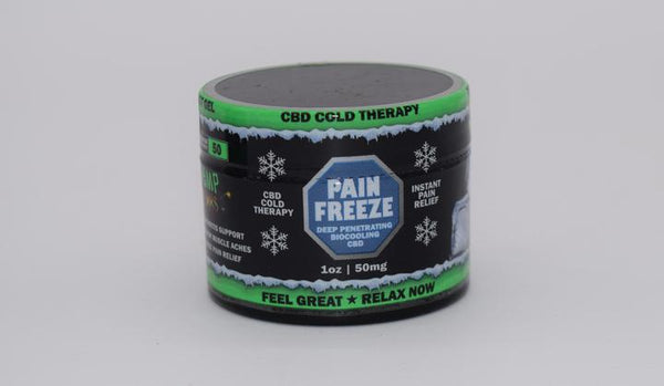 Hemp Bombs CBD Pain Freeze 1oz 50mg