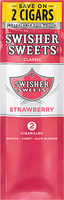 Swisher Sweets 2CT Cigarillos Strawberry Foil Pouch