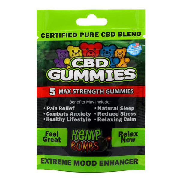 Hemp Bombs CBD Gummies 5CT