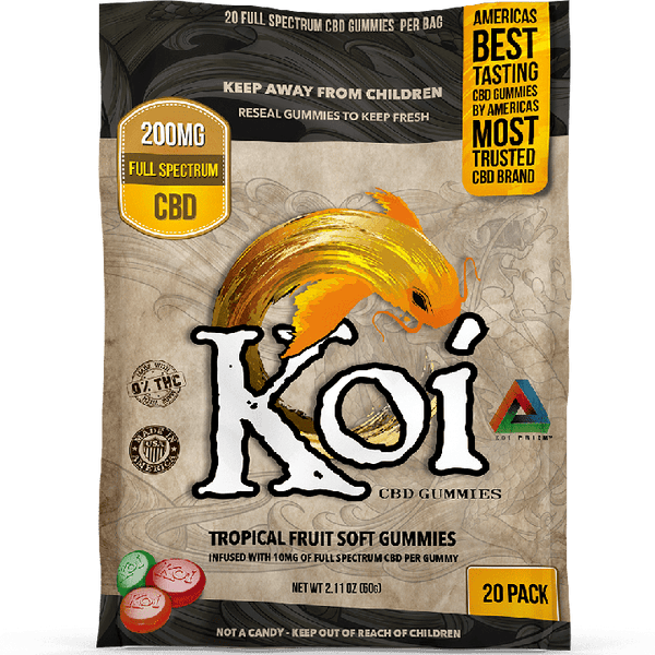 KOI CBD Soft Gummies 20CT