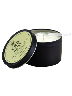 Earthly Body CBD Daily 3 in 1 Massage Candle