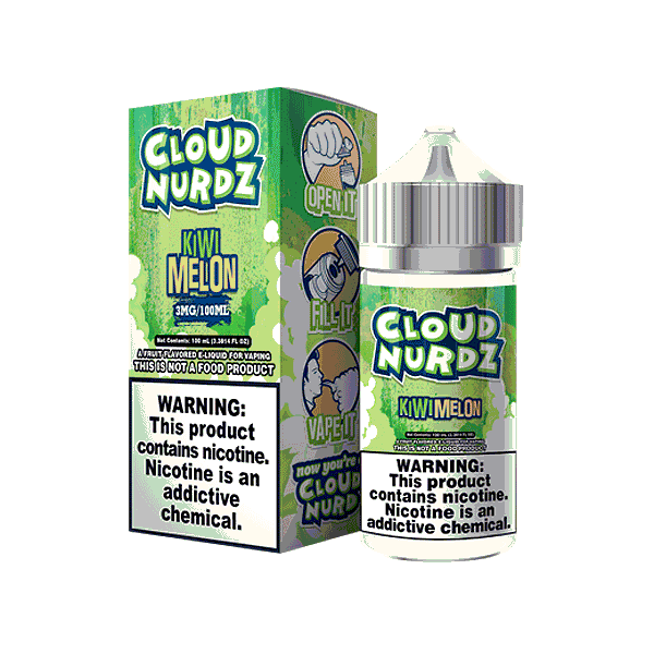 Cloud Nurdz 100ML Kiwi Melon