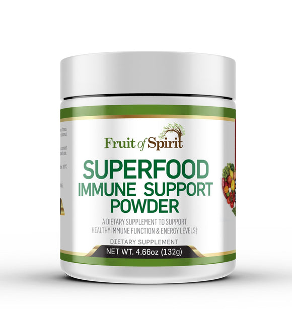 Superfood Immune Support Powder.